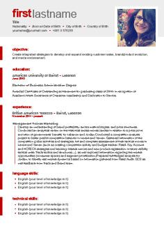Marvelous Free Professional Cv Builder