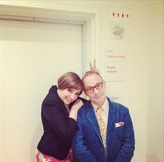 Lena Dunham, David Sedaris address grief, sexism at Carnegie Hall. I would have loved to see these two together. I imagine they compliment each other well.