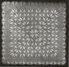 Lace Knitting Patterns, Doily Patterns, Knitting Stitches, Baby Shawl, Poncho Shawl, Tricot D'art, Wedding Shawl, Knitted Shawls, Yarn Needle