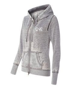 8913 Women's Zen Fleece Full-Zip Hooded Sweatshirt