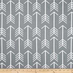 Premier Prints Arrow Cool Grey from @fabricdotcom  Screen printed on cotton duck; this versatile medium weight fabric is perfect for window accents (draperies, valances, curtains and swags), accent pillows, duvet covers and upholstery. Create handbags, tote bags, aprons and more. *Use cold water and mild detergent (Woolite). Drying is NOT recommended - Air Dry Only - Do not Dry Clean. Colors include white and cool grey.