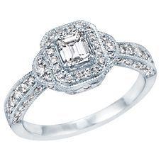 1ct TW Diamond Engagement Ring