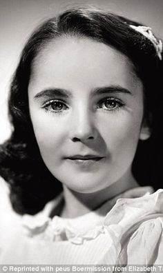 Early starter: Elizabeth Taylor was 12-years-old when National Velvet made her a film star in 1944