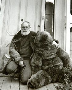 I tend to be rather inconsequential and trail off. Edward Gorey