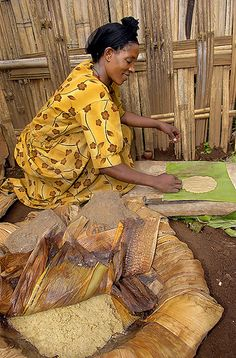 #AddisAbaba Surrounding regions food culture ET10-17 | Ethiopia