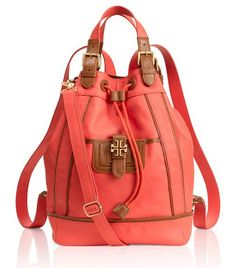 Tory Burch Dash Backpack...... if only i was willing to spend this much money on a backpack.....