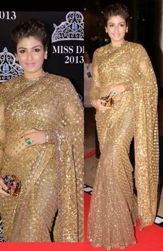 Bollywood-Indian Movies Actresses Celebrities Stars Wear Beautiful Designers Saree-Sari-7