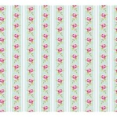 Tilda Fabric Rose Stripe Blue by ValiCePortugal on Etsy Papel Vintage, Vintage Paper, Papel Scrapbook, Scrapbooking, Shabby Chic Fabric, Fabric Stamping, Fabric Roses, Decoupage Paper, Print Wallpaper