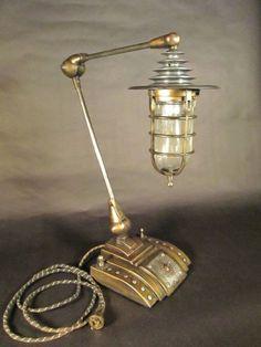 unusual desk lamps: personable gorgeous furniture cool unique shape desk lamp classic home decoration