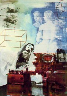 Robert Rauschenberg - Tracer 1964