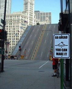 Go ahead... You can make it.  Look at the sign!