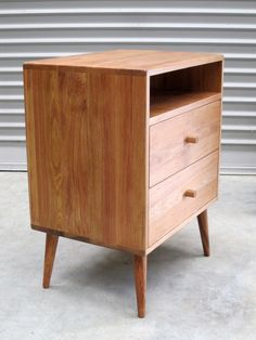 Adam Sinclair is a Mt Maunganui based furniture designer & maker specialising in solid wood furniture that is unique, handcrafted & authentic. Inspired by mid century design each piece is functional & made from locally sourced timbers, new & recycled Solid Wood Furniture, Furniture Design, Mid Century Design, Bedside, Discount Designer, Master Bedroom, Custom Design, Interior Decorating, Cabinet
