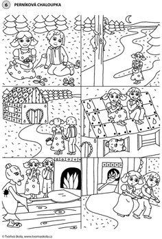 POHÁDKA: Perníková chaloupka (časová posloupnost)
