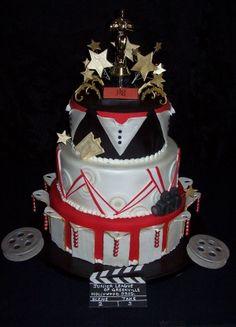 Oscar theme cake
