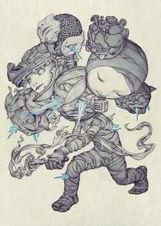 Torch by James Jean