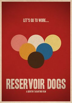 reservoir dogs #minimalmovieposters