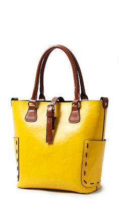 Stylish leather bucket bag shoulder bag Messenger bag 7008