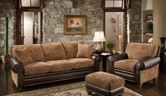 Rustic Living Room Furniture – How Charming Your Home will be!