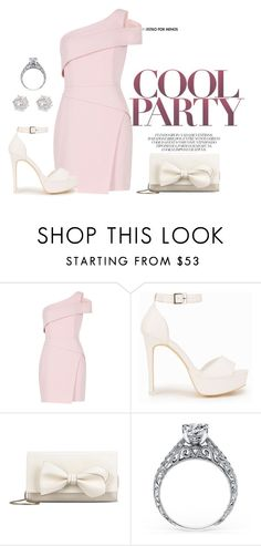 """""""Nude Pink"""" by agnes-adellina on Polyvore featuring BCBGMAXAZRIA, Nly Shoes, RED Valentino and River Island"""