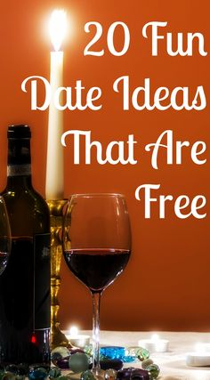 20 fun date ideas that are free | This article shares date ideas that don't cost any money. Though some of the descriptions are poor, the list of date ideas is great.