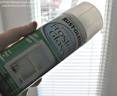 to Spray Frost a Glass Door for Privacy Rustoleum frosted glass spray paint - awesome idea for French doors. Gives privacy but keeps the light.Rustoleum frosted glass spray paint - awesome idea for French doors. Gives privacy but keeps the light. Bathroom Window Privacy, Bathroom Windows, Privacy Curtains, Privacy Glass Front Door, Shower Window, Shower Doors, Frosted Glass Spray, Diy Frosted Glass Window, Frosted Shower Glass Door