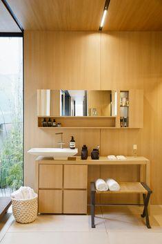Galeria de Syshaus / Studio Arthur Casas - 18 Floor Design, House Design, Studio Arthur Casas, Bungalow, Room Interior, Interior Design, Prefabricated Houses, Wood Counter, Story House