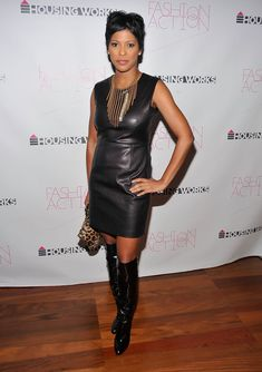 Television personality Tamron Hall attends Housing Works' Fashion For Action 2010, Chaired by Thom Browne at Rubin Museum of Art on November 18, 2010 in New York City.