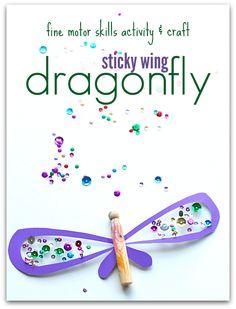 dragonfly craft for preschool