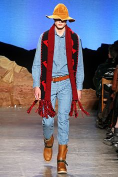 Band of Outsiders Fall 2012 Denim and Denim