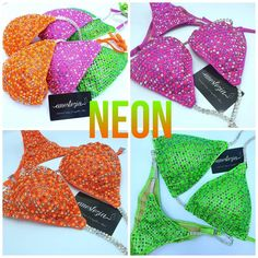 """ANESTEZIA on Instagram: """"This is a💣 Our new limited collection """"NEON"""" 😱😍Incredible electric colours for those who don't afraid to be bright and different. DARE TO…"""" Competition Bikinis, Limited Collection, Dares, Electric, The Incredibles, Colours, Bright, Instagram"""