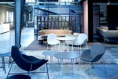 #Moroso Orgatec 2014 Tia Maria Collection - Franzolini Conference Room, Dining Chairs, Table, Furniture, Collection, Home Decor, Decoration Home, Room Decor, Dining Chair