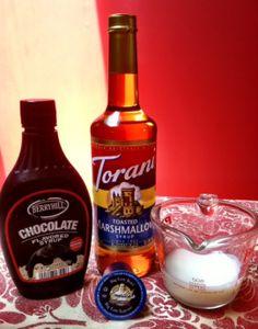 Keurig Kcup smores flavored cappuccino recipe