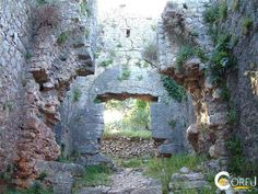 Castle Kassiopi: The Castle of Kassiopi is a castle on the north coast of Corfu , which is just above the fishing village of Kassiopi . It was one of the three cas...