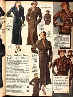 Johanna's Blog - 1930s fall and winter coats and jacket. YES