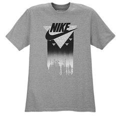 Nike Graphic T-Shirt - Men's - Dark Grey Heather/Black/White