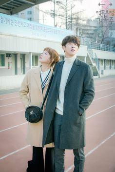 Nam Joo Hyuk and Lee Sung-kyung swag couple @Weightlifting Fairy Kim Bok-joo