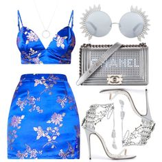 Designer Clothes, Shoes & Bags for Women Boujee Outfits, Swag Outfits For Girls, Kpop Fashion Outfits, Stage Outfits, Girly Outfits, Cute Casual Outfits, Polyvore Outfits, Stylish Outfits, Mode Chanel