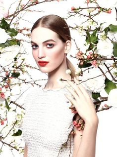 Vanessa Axente for Chanel Beauty Spring Summer 2015