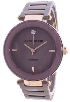 Features : Gold Stainless Steel Case Stainless Steel Bracelet Quartz Movement Mineral Crystal Mauve Pearl Mother Analog Display Diamond Decorations Pull / Push Crown Fixed Case Back Deployment Clasp 30M Water Resistance Estimated housing diameter: 33mm Estimated housing thickness: 7 mm Stainless Steel Bracelet, Stainless Steel Case, Anne Klein Watch, Diamond Decorations, Mauve Color, Michael Kors Watch, Bracelets, Quartz, Watches
