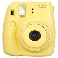 Fujifilm Instax Mini 8 Instant Film Camera - Yellow (16273441)