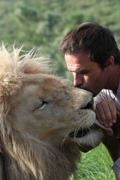 Kevin Richardson. if you watch some of his videos out there, this man is crazy cool !