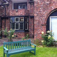 Garden in Nazarene Theological College, Didsbury, Manchester, UK