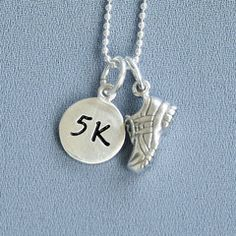 Running shoe charm - I would love to get this for K!  Today (April 7) she completed a 4 mile run (placed 1st) and a 1 mile fun run.  She has ran 11 races the past year and placed in all 11!  This bragging mama is proud of her 10 year old :)