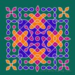 This page provides Dot Rangoli Designs and Patterns for Hindu festivals. In Tamil Nadu Rangoli is known as Kolam, Mandana in Rajasthan, Chowk Purna in Northern India, Alpana in West Bengal, Aripana in Bihar and Muggu in Andhra Pradesh. Rangoli With Dots, Simple Rangoli, Dot Rangoli, Beautiful Rangoli Designs, Kolam Designs, Hindu Festivals, Blackwork, Kids Rugs, India