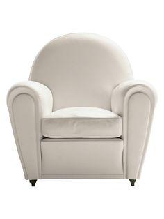 Deze stoel heeft hele mooie vormen, alleen is die nog een beetje saai.