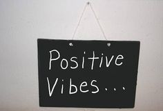 Positive Vibes Motivational Wall Art Inspirational Wood Sign