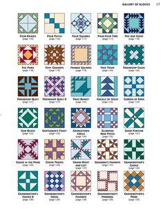 From 501 rotary cut quilt blocks quilt patchwork for Garden of eden xml design pattern