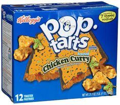 Kellogg's Announces Brand New Pop Tart Flavors Gross Food, Weird Food, Fake Food, Weird Oreo Flavors, Pop Tart Flavors, Funny Food Memes, Food Humor, Pop Tarts, Hot Pockets