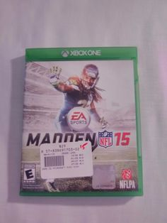 MADDEN 15 (Microsoft Xbox One, 2014 Great Condition Fast Shipping