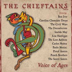 So excited for a new Chieftains album!